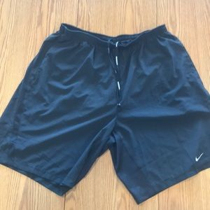 Nike dry-fit  black running shorts